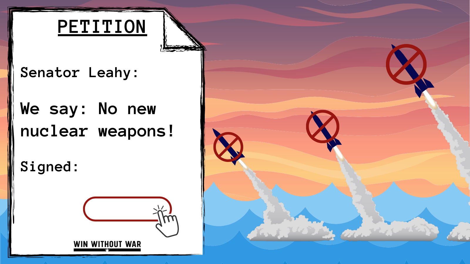 Cut the New Navy Nuke from the Pentagon Budget!