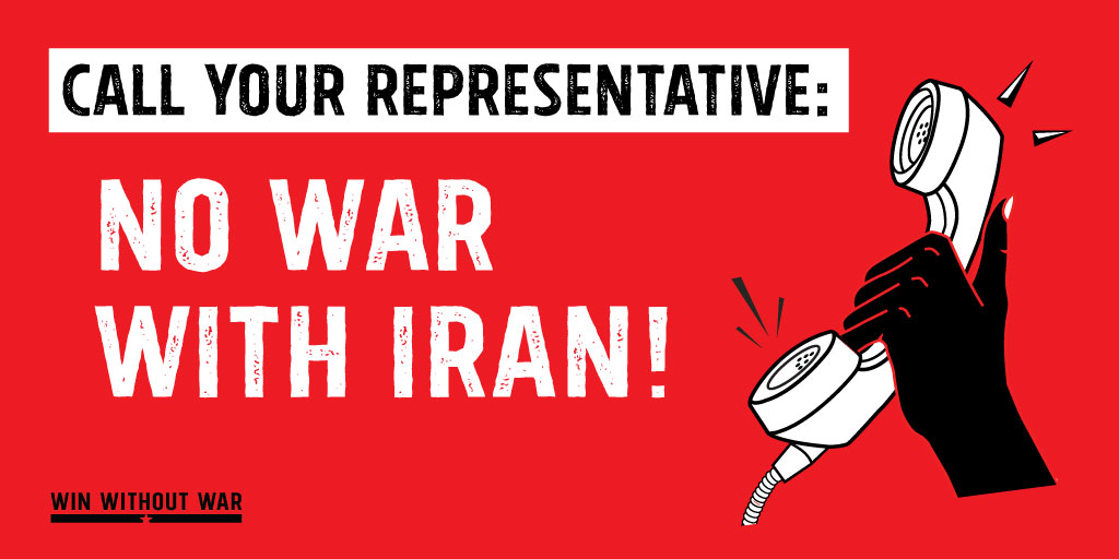 Call Congress: No war with Iran!