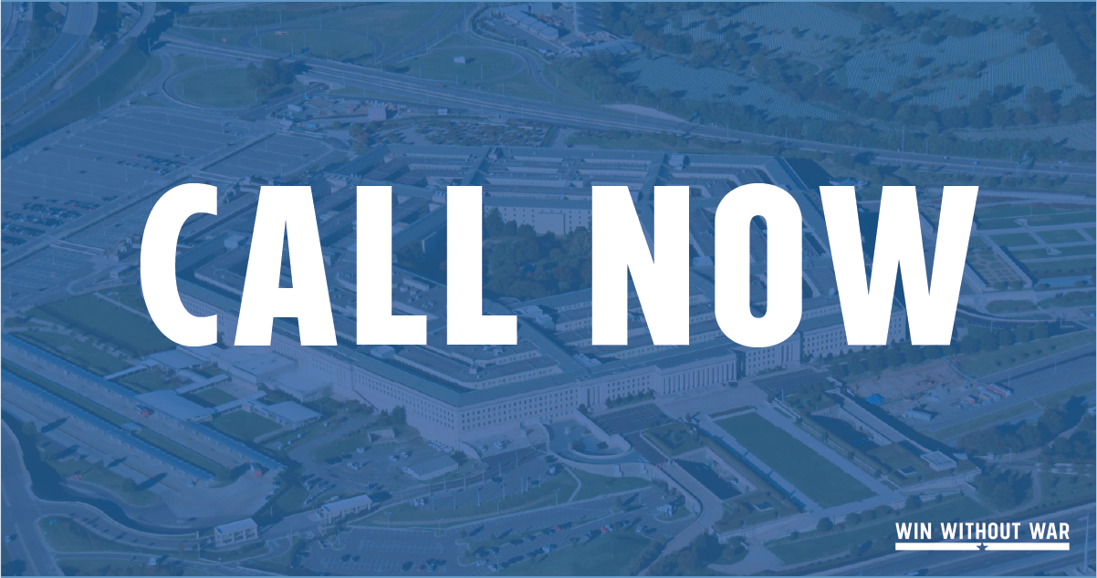 Call Congress: Progressive NDAA NOW!