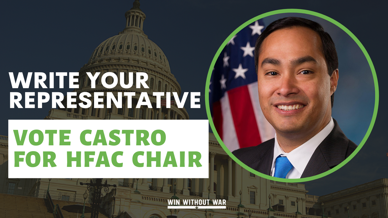 Joaquin Castro for HFAC Chair!