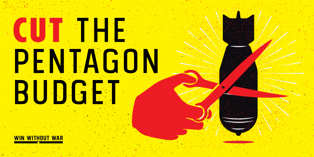 Tell Congress to cut the Pentagon budget