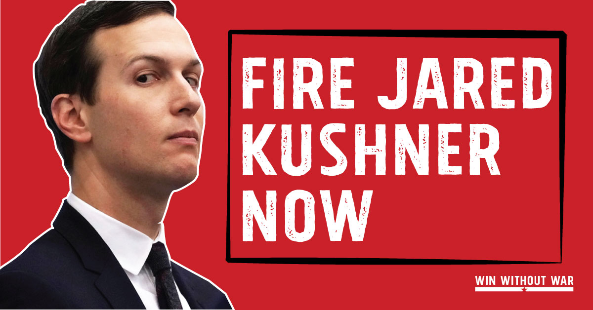 Tell Congress: Fire Jared Kushner