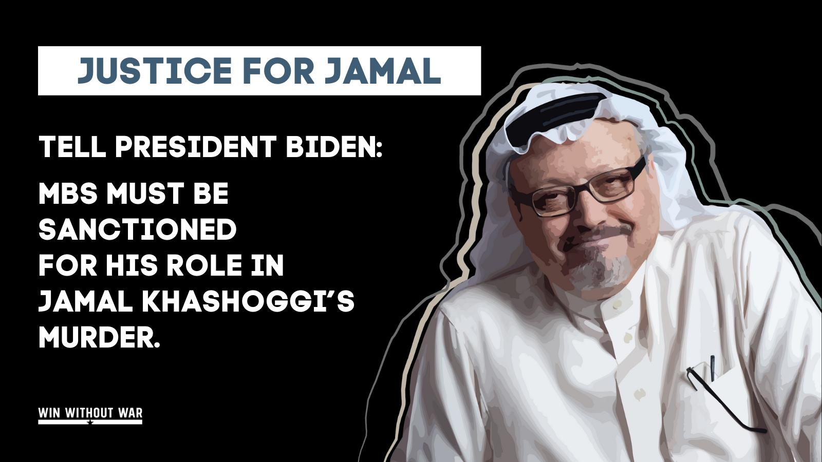 #JusticeforJamal: Sanction Crown Prince Mohammed bin Salman