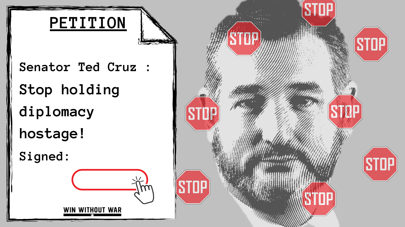 Tell Ted Cruz: No more obstruction!