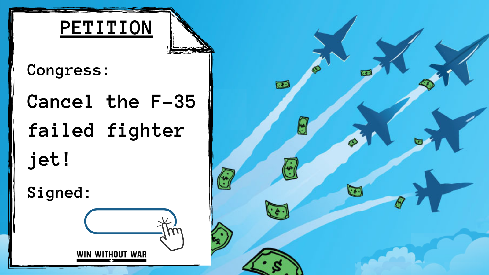 Congress: Cancel the Failed F-35