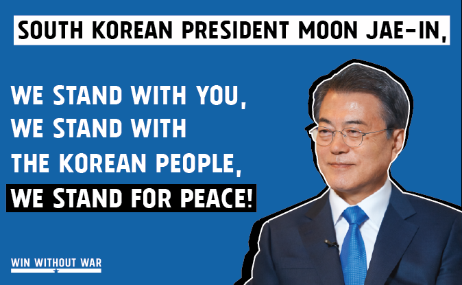 Tell President Moon: We Support Peace