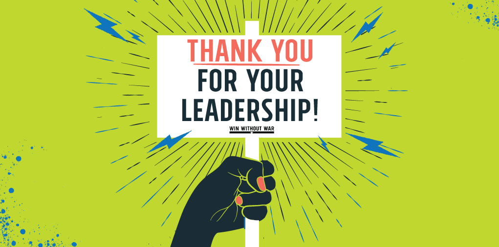 Thank you for your leadership!