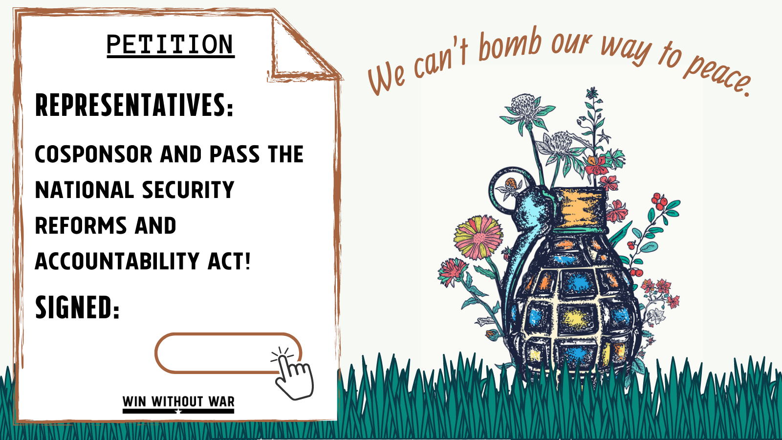 Let's Pass the National Security Reforms and Accountability Act — now!