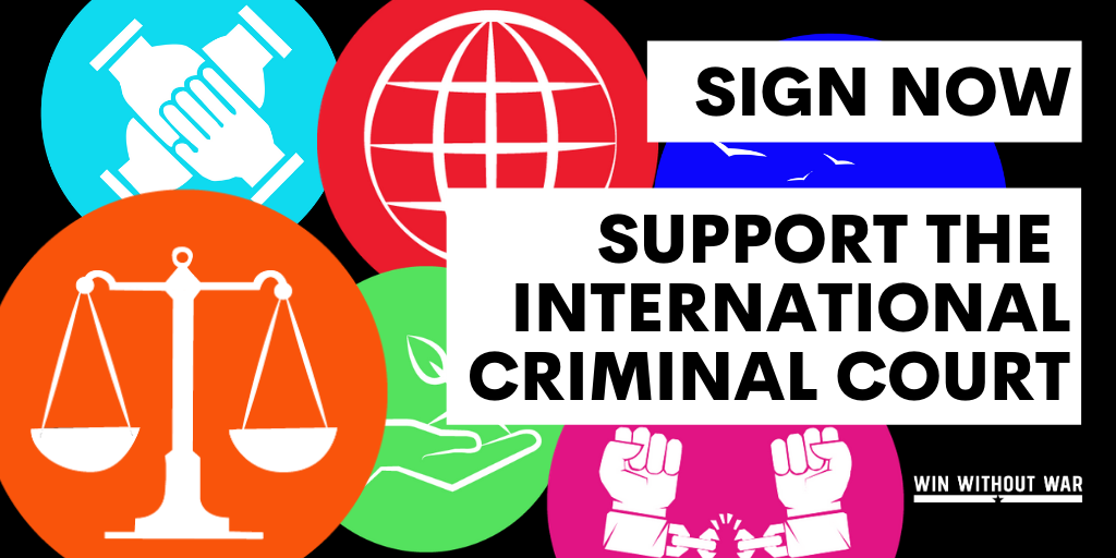 Support justice and the International Criminal Court!