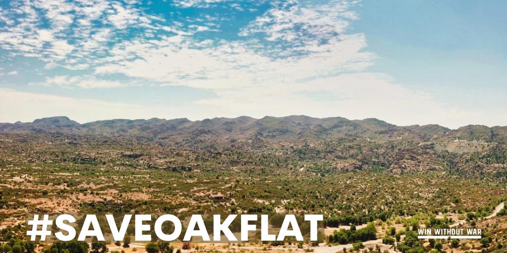 Sign Now: Stop the destruction of Oak Flat