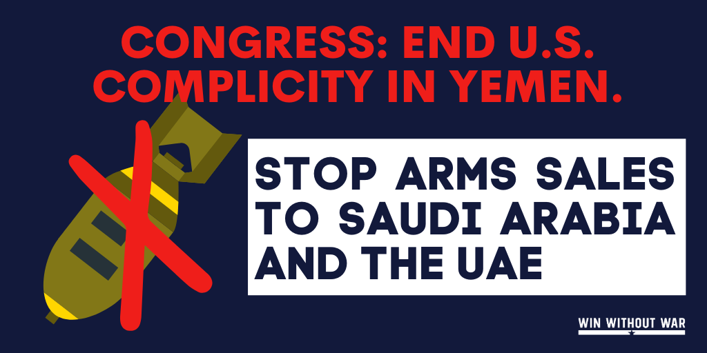 Stop Trump's arms sale to the UAE!