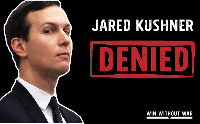 Add your name: Fire Jared Kushner