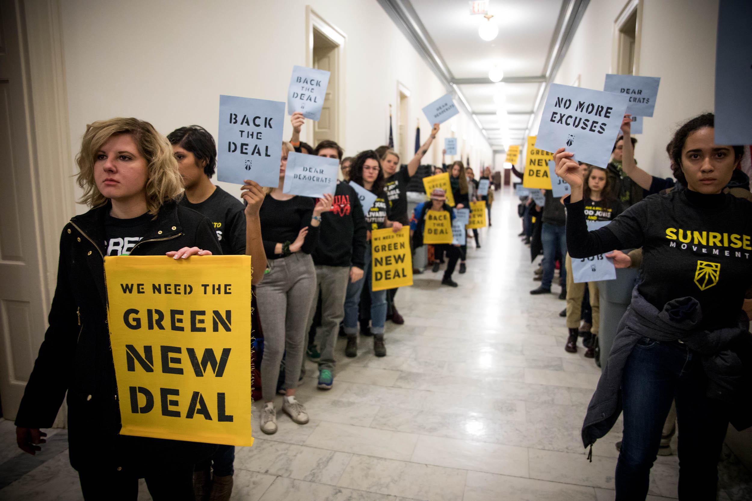Tell Congress: Green New Deal NOW!