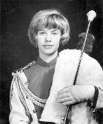 Barbara Syckes Drum Majorette 1965