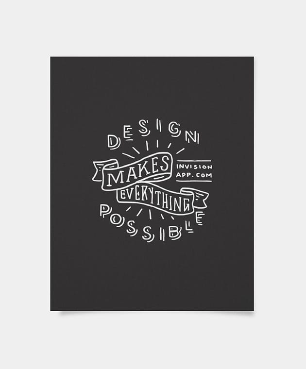 Design Makes Everything Possible Ribbon - Kyle Steed