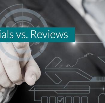 Testimonials vs. Reviews