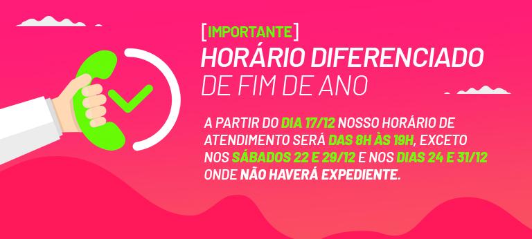 Banner Login Horário