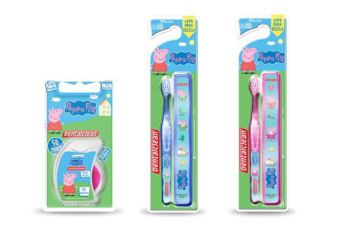 Escova e fio dental 1