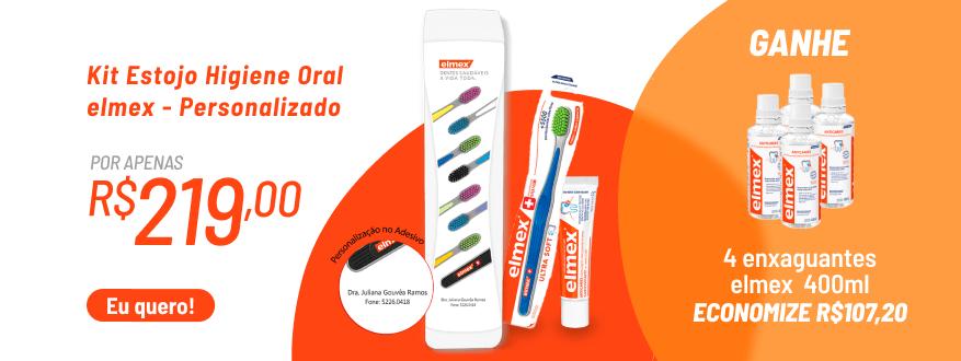 Kit Estojo Higiene Oral elmex - Personalizado