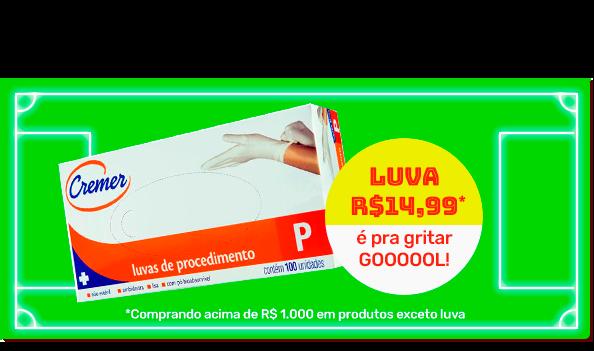 Luva R$14,99*