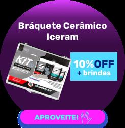 Bráquete Cerâmico Iceram Safira