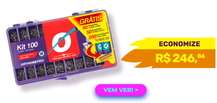 Bráquete Metálico Advanced Roth