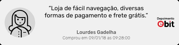 Depoimento da cliente Lourdes Gadelha