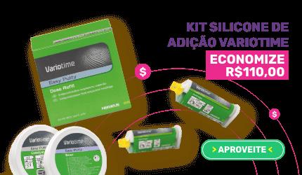Kit Silicone de Adição Variotime