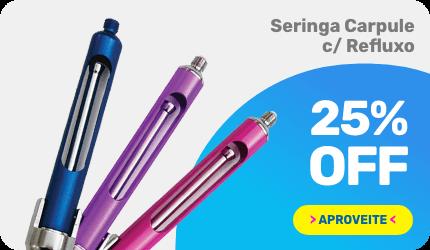 Seringa Carppule c/ Refluxo