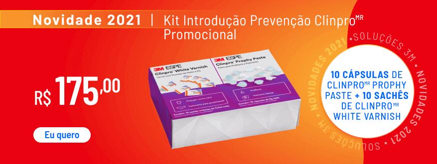 Kit Introdução E Prevencao Clinpro