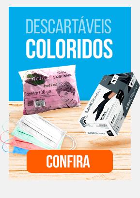 Descartáveis COloridos!