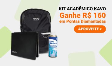 Kit Acadêmico Kavo - Ganhe R$160,00 em Pontas Diamantadas
