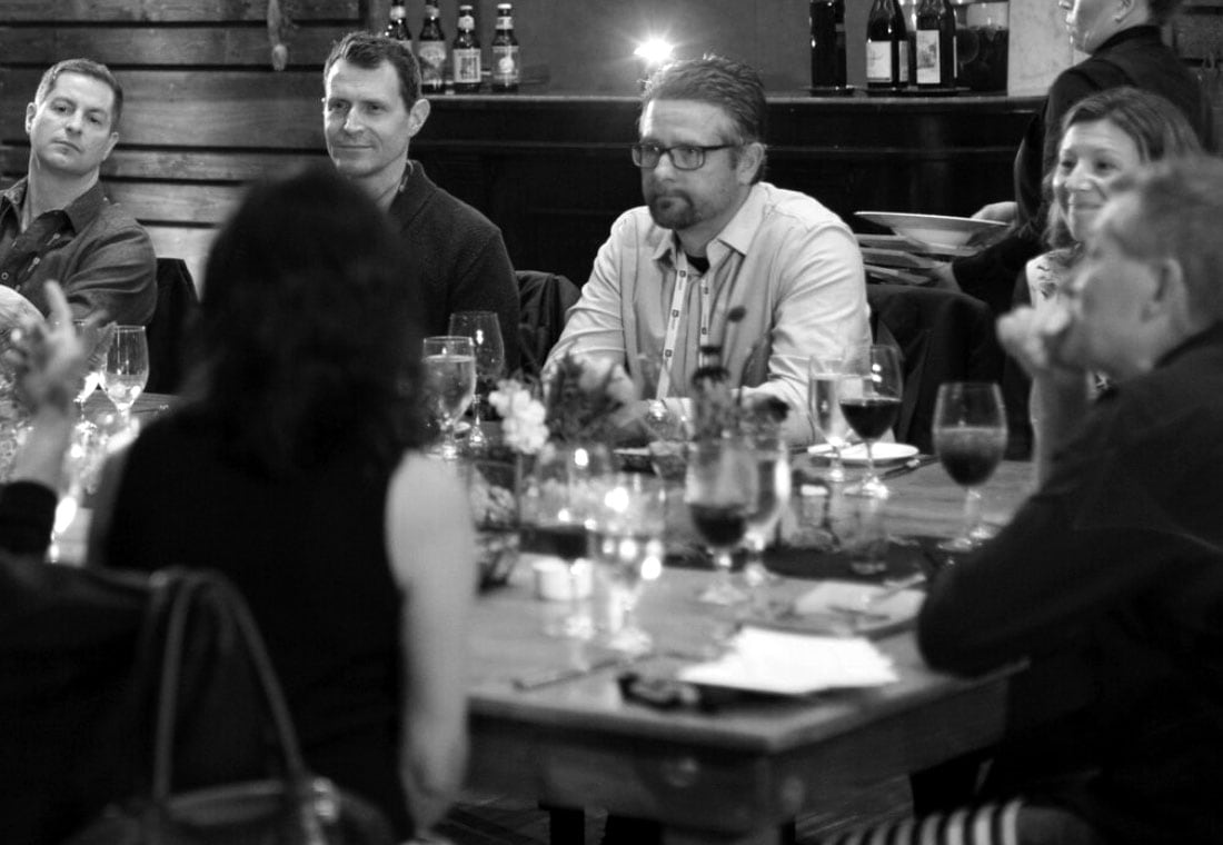 Dinner discussion with leaders from Amy Lokey (Google), Amanda Linden (Facebook), Eliel Johnson (Charles Schwab), and more.