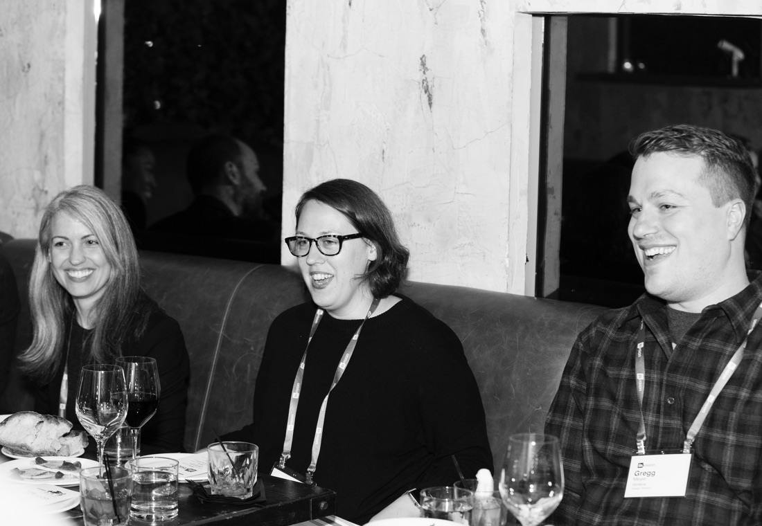 Laura Hahn (Priceline), Renda Morton (New York Times), and Gregg Meyer (WeWork) discuss how to amplify design culture.