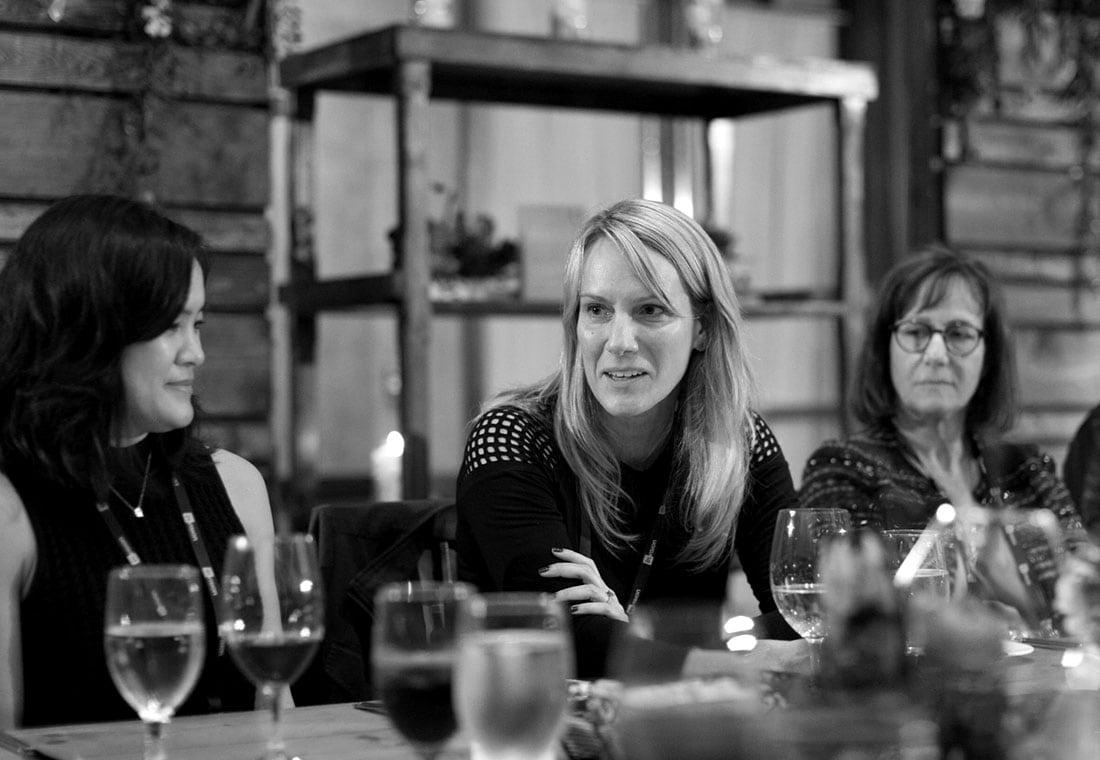 Amy Lokey (Google), Irene Au (Khosla Ventures), and Lori Kaplan (Atlassian) discuss scaling design at enterprises.
