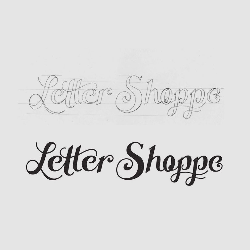 Creating A Hand Lettered Logo Design Inside Design Blog