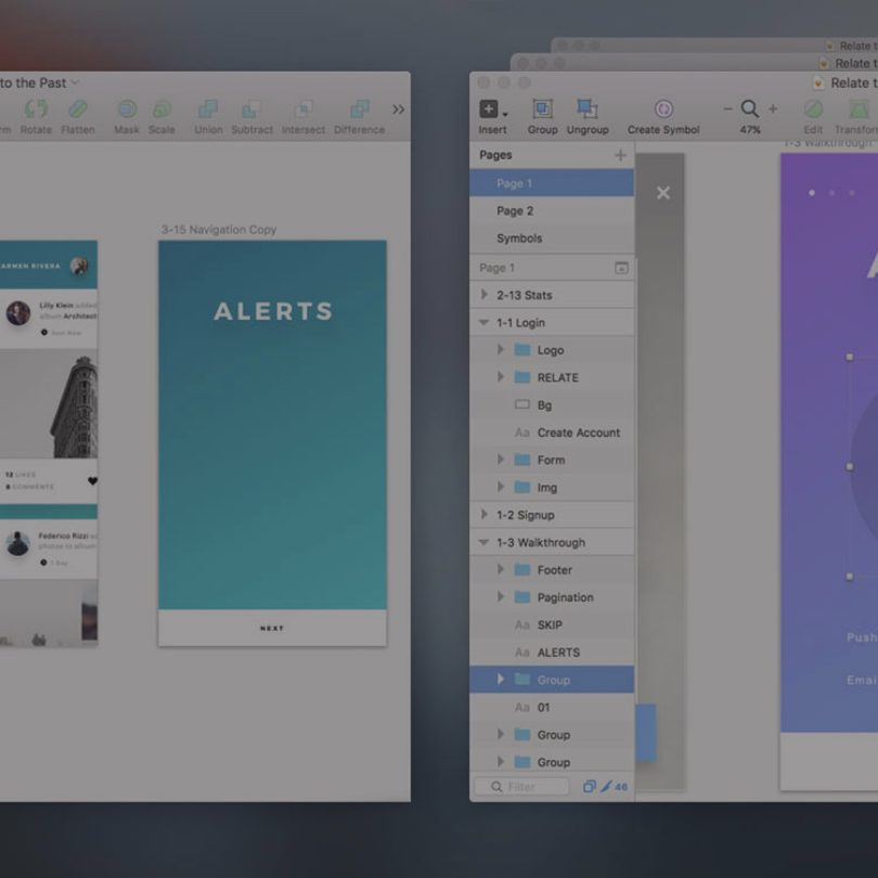 Sketch tutorial: How to grab lost design elements from the past