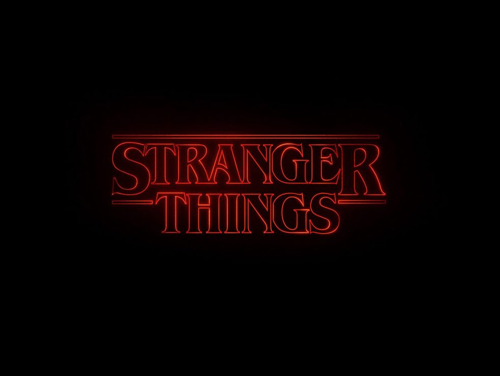 Text Background Png Stranger Things Logo