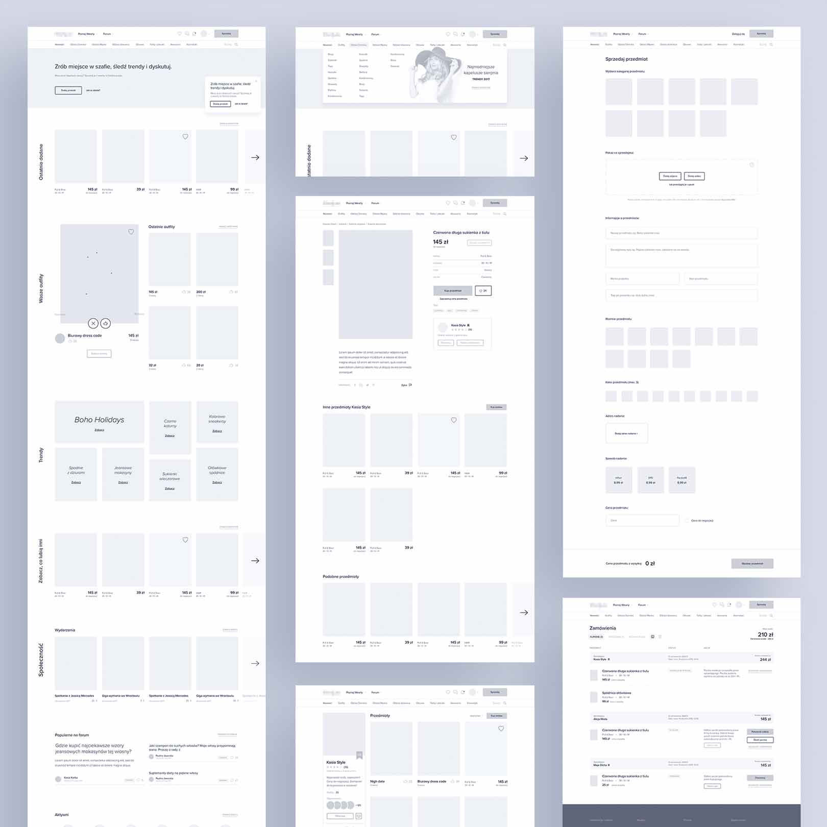 Website App Wireframe Examples For Creating A Solid Ux Design