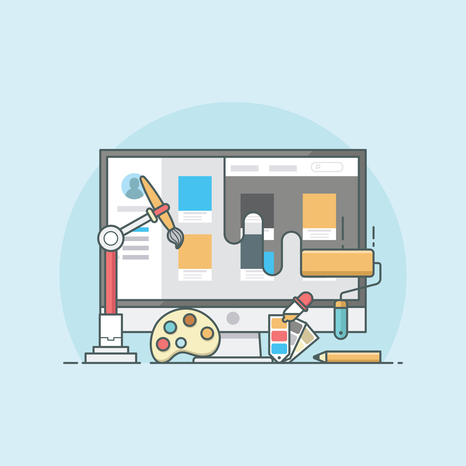 Redesign >> 9 Inspiring Redesign Concepts For Popular Websites