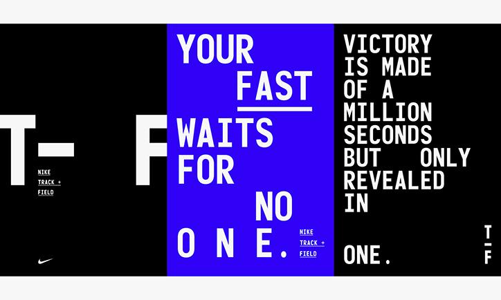 monigote de nieve Sin valor loto  The inspiration behind Nike's new Track + Field branding