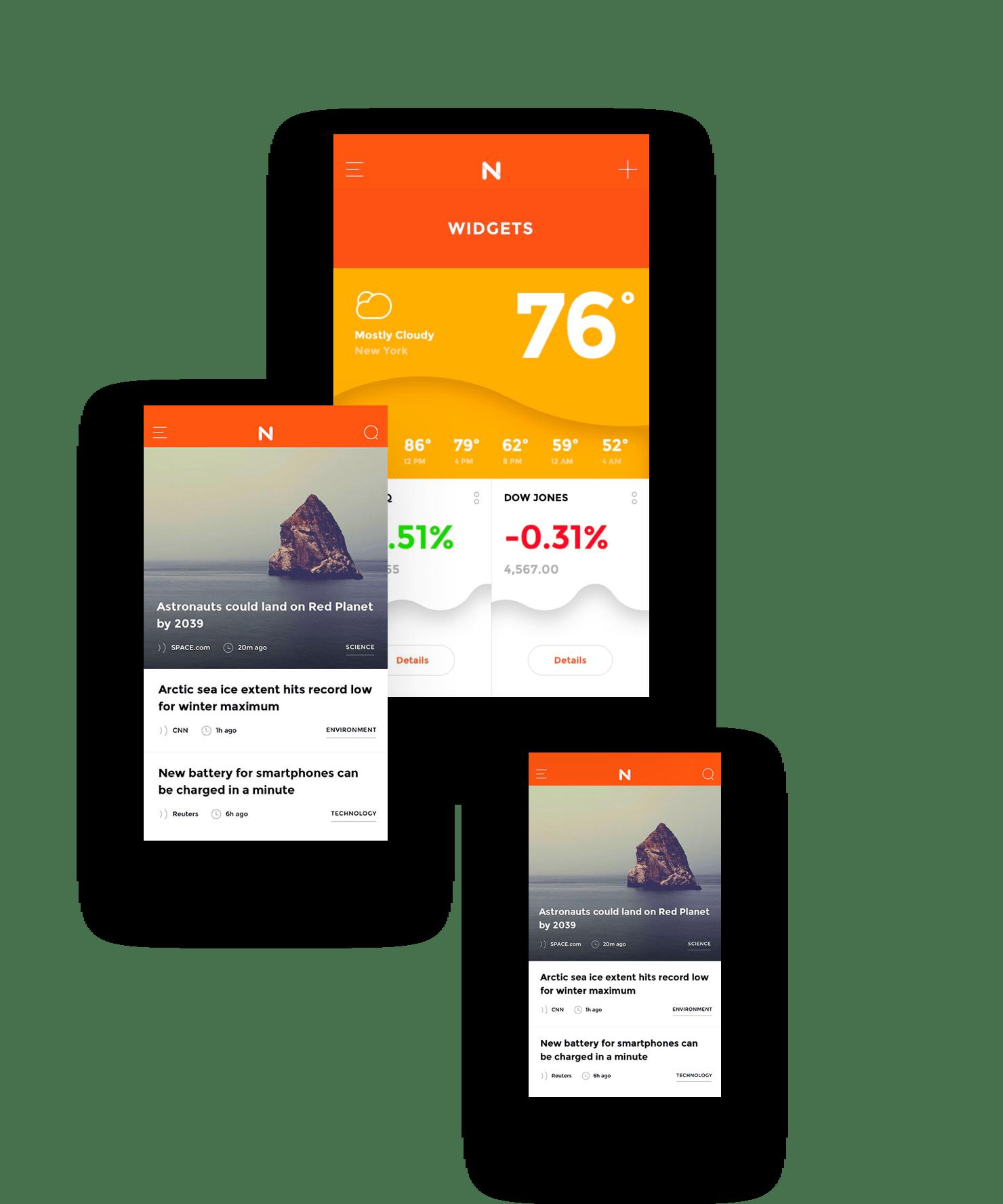 Meet Now: A beautiful cross-platform UI kit