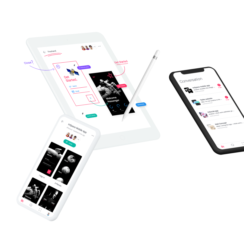 Meet the new InVision mobile app | Inside Design Blog
