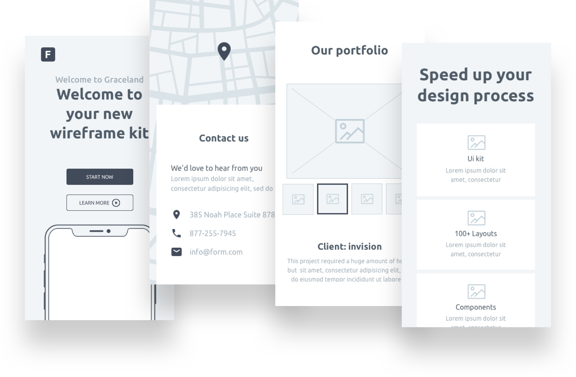 Form: A free wireframe kit from InVision