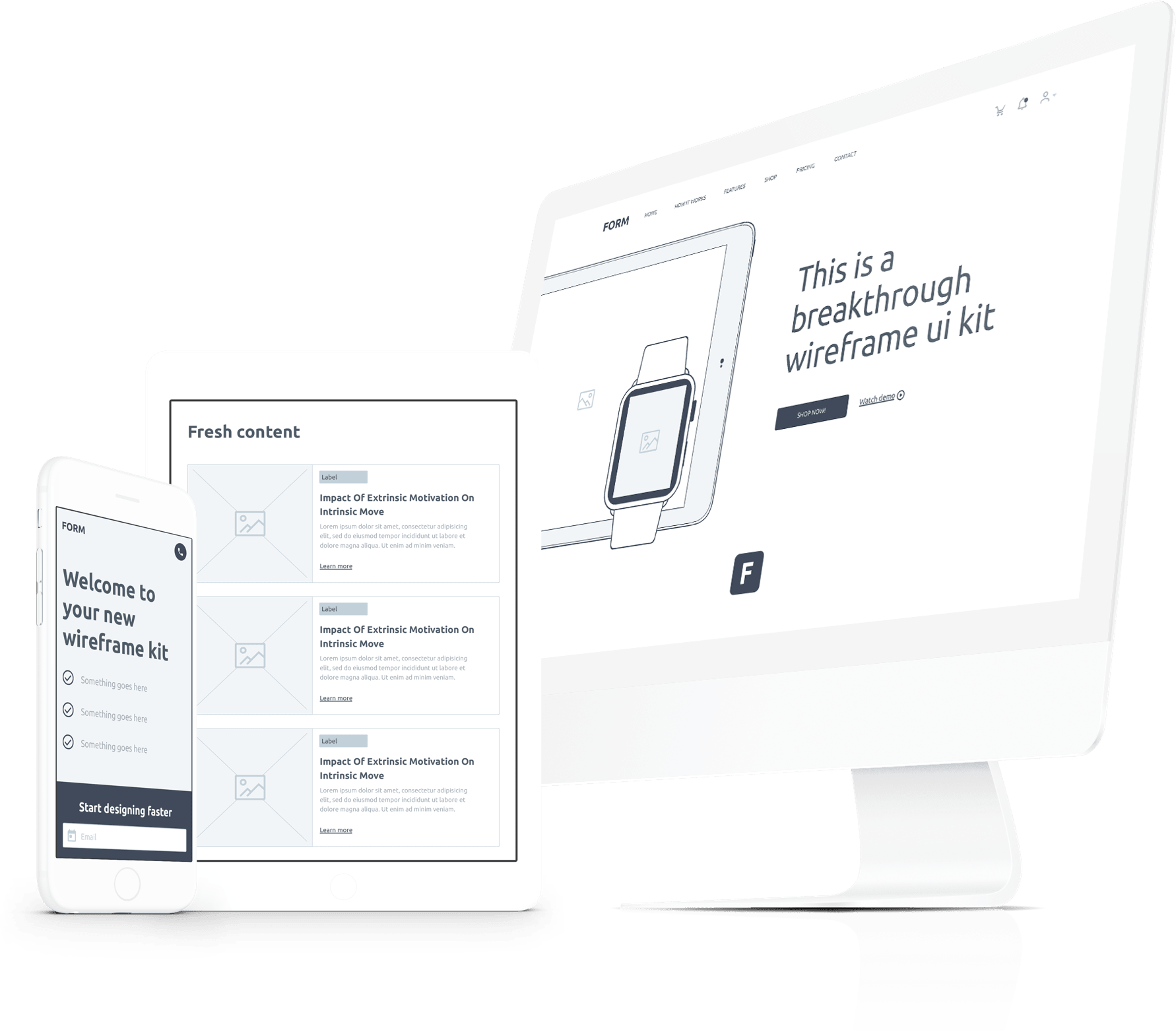 Get the Form UI kit today.