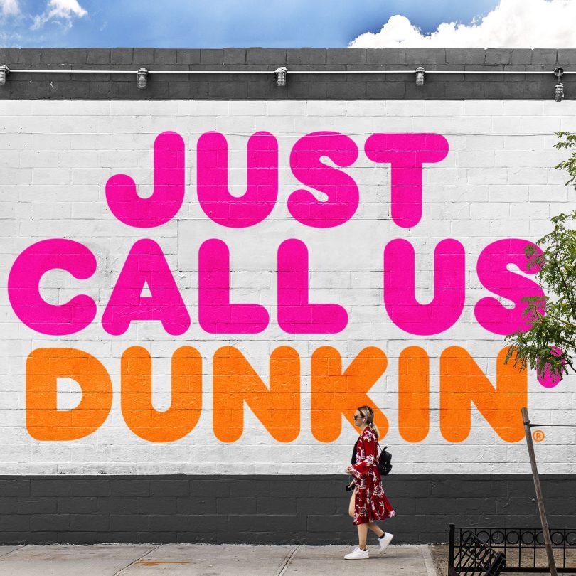 dunkin u2019 drops  u2018donuts u2019 in recent rebrand