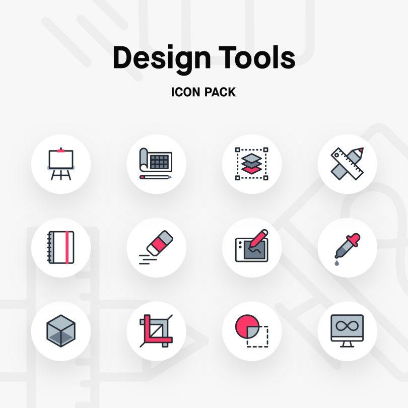 Design tools icon pack | Inside Design Blog