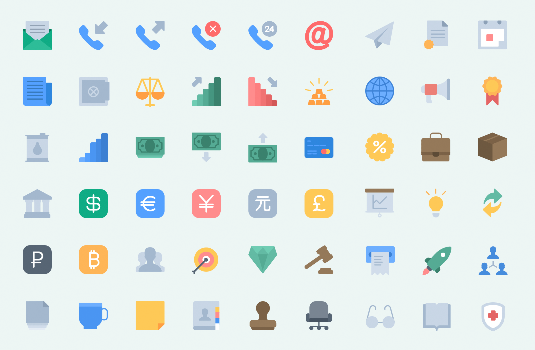 Essentials icon pack: The most commonly used icons in one place