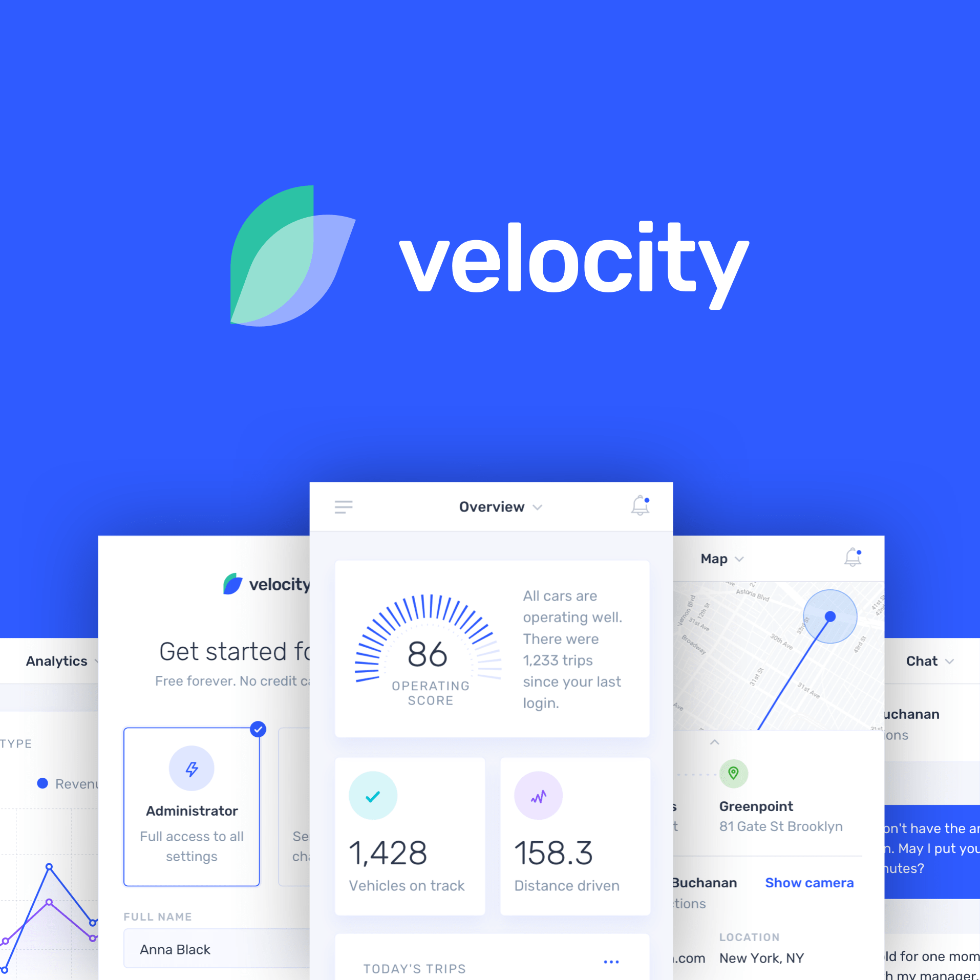 Velocity A Dashboard Ui Kit With A Robust Design System Inside Design Blog