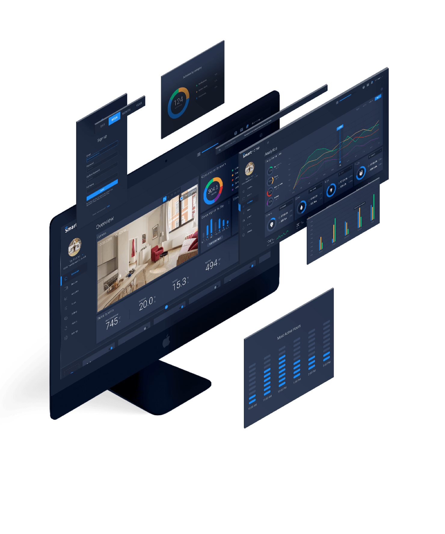 Smart home a digital ui kit for the physical world by invision